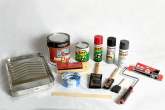 Paint and painting supplies