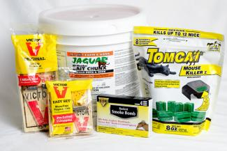 Rodent control products